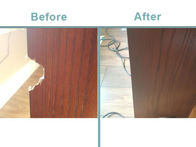 bookcase repair Boise