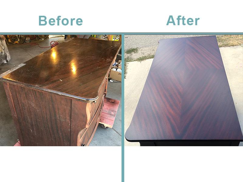 antique dresser restoration services