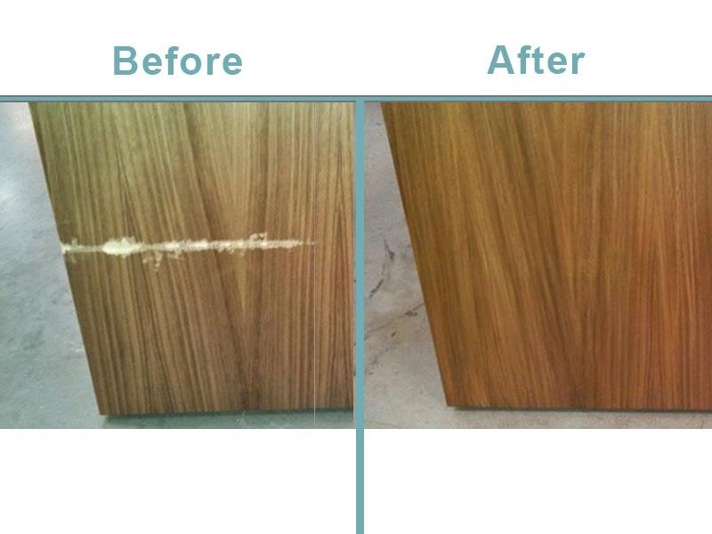 wood crossgrain repair