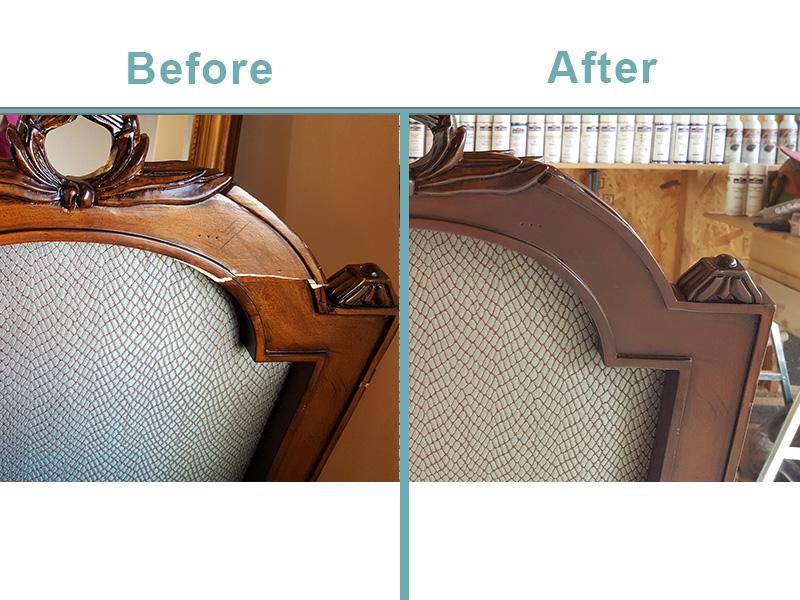 wooden dining chair repair