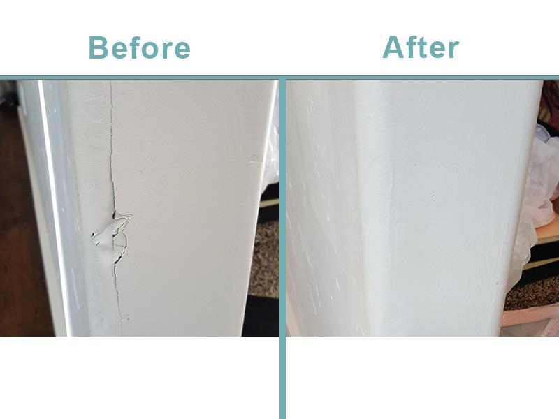 Damaged drywall repair
