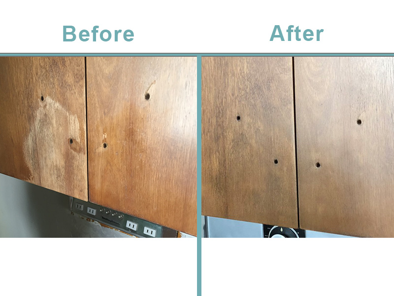 Kitchen cabinet repairs.