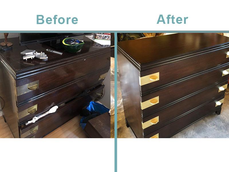 Widdicomb Dresser Restoration