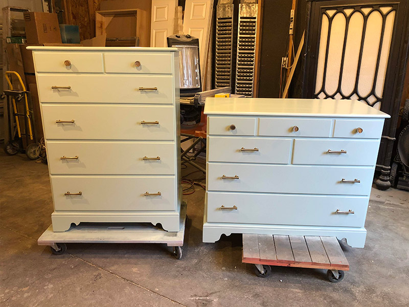 solid wood dressers-after