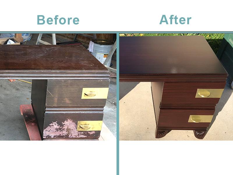 vanity restoration